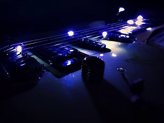 Electric guitar arise (Fraser8888) Tags: iphone7 iphone strings dark electricguitar product lights guitar light