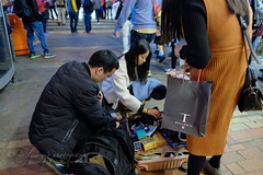 why pack at middle on street .... (yipsinclair) Tags: streetphotography snap street city color urban fujixphotography fujifilm fujix xt1 mongkok