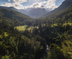 Beautiful Lamington (blinsaff) Tags: mavic drone landscape forest pine nature australia queensland from above mountains farmland rolling hills green clouds