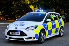 BX13 GUA (S11 AUN) Tags: warwickshire police ford focus st estate anpr operational patrol unit opu ops tasking command vehicle traffic car rpu roads policing 999 emergency bx13gua