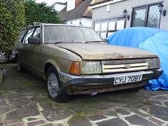 1982 Ford Granada 2.8 Ghia X (Neil's classics) Tags: vehicle car abandoned wagon estate 1982 ford granada 28 ghia x