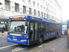Go North East 5271 NK56KKG Market St, Newcastle on 11 (3) (1280x960) (dearingbuspix) Tags: goahead gonortheast bluearrow 5271 nk56kkg