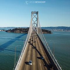 Bay Bridge (Arturo Betancourt Photography) Tags: bay bridge california usa cars sanfrancisco photo photography photographer photoshoot photos drone dronephotography dron drones aerial aerialview traffic city area urban