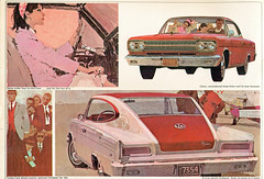 1966 American Motors Marlin (coconv) Tags: car cars vintage auto automobile vehicles vehicle autos photo photos photograph photographs automobiles antique picture pictures image images collectible old collectors classic ads ad advertisement postcard post card postcards advertising cards magazine flyer prestige brochure dealer art illustration drawing painting 1966 american motors marlin 66 amc rambler 2 door hardtop fastback coupe