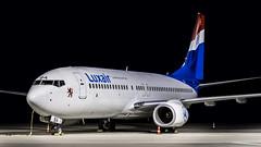 Boeing 737-8C9(WL) LX-LBA Luxair (William Musculus) Tags: airport spotting badenbaden karlsruhe fkb edsb lxlba luxair boeing 7378c9wl 737800 william musculus