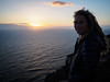 20170516 - 91 -  - County Galway to County Clare (Kayhadrin) Tags: countyclare taryndavis cliff ireland sunset visall