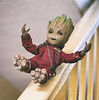 Groot goes for a slide (jezbags) Tags: marvel baby groot slides staircase banister babygroot marvelstudios hottoys sideshow guardians guardiansofthegalaxy stairs avengers macro macrophotography macrodreams canon canon80d 80d 50mm collectible actionfigure lifesize iamgroot fun