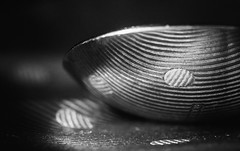 Spotty (022:365) (Matthew Johnson1) Tags: 365 dof dot dotty hmm macro macromonday material reflection spoon spotty speckled 365the2018edition 3652018 day22365 22jan18 abstract