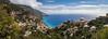 Positano Panorama.jpg (Darren Berg) Tags: positano italy sea pano panorama coast sunshine italian beach azure houses terrace