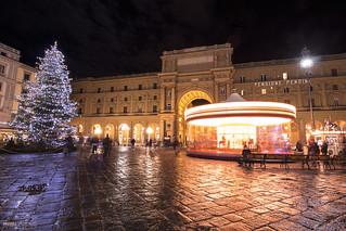 Piazza della Repubblica - Firenze (Italy)