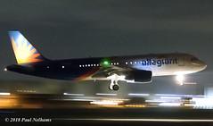 HZAS11 A320 Allegiant (Anhedral) Tags: einn snn shannonairport night airliner jet hzas11 airbusindustrie a320 a320214 sva9095 landing allegiant n258nv