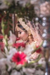 Exotic Bride (MH Photograaphy) Tags: portrait bride beautiful bangladeshi wedding dhaka exotic army golf garden bangladesh pink reception biye shadi art painting paint indoor venue hall convention center