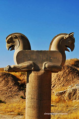 In Persepolis, Iran (Alwaysawei) Tags: iran hitchhiking adventure travel perspolis persia darius great ancient ruin