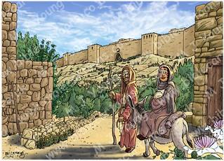Luke 02 - Prophecies about Jesus - Scene 01 - To Jerusalem