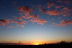 Cambridge Sunset (R.K.C. Photography) Tags: sunset cambridge england castlemound unitedkingdom sky clouds evening uk cambridgeshire canoneos100d
