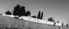 Cementerio Multi-Tarea (45/365) (Walimai.photo) Tags: cementerio graveyard blanco negro byn bw branco preto blanc noir pueblo zamora caminodesantiago víadelaplata panasonic lx5 lumix