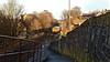Yorkshire Freight (_J @BRX) Tags: 6m37 arcowquarry pendleton brndlehth gbf class66 brighouse yorkshire england uk february 2018 winter freight train railway rail electromotive diesel emd gm sunshine shadow 66714 nikon d5100