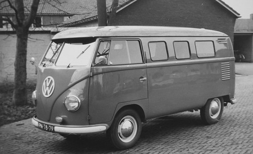 "PN-78-79 Volkswagen Transporter bestelwagen 1956 • <a style=""font-size:0.8em;"" href=""http://www.flickr.com/photos/33170035@N02/26493828828/"" target=""_blank"">View on Flickr</a>"