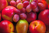 Fruit (Mr Joel's Photography) Tags: fruit pear nectarines grapes paintcreations
