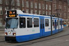 903, Amsterdam Centraal, January 27th 2015 (Southsea_Matt) Tags: 903 route24 serie11g gvbamsterdam centraalamsterdamhollandthe netherlandspassenger travelpublic transporttrammetrolight rail