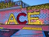 ACE Hotel Sign (Thad Zajdowicz) Tags: sign building ace letters word prisma zajdowicz palmsprings california cellphone motorola droid usa color