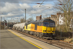 60095 6L44 West Hampstead Thamslink (RyanTaylor1986) Tags: class 60 tug 60095 colas 6l44 oxwellmains west thurrock cement freight train
