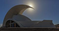 Teneriffa - Auditorio de Tenerife (ulrichcziollek) Tags: spanien kanaren kanarischeinseln teneriffa santacruz auditorio tenerife calatrava