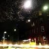 Der Lichtigel rast wieder durch den Wester (bornschein) Tags: badenwürttemberg strase street bus city lights dunkel nacht nachts night stuttgart sundaylights