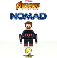 Nomad v.3 (a.k.a. Captain America -- Infinity War) [MCU] [MOD]