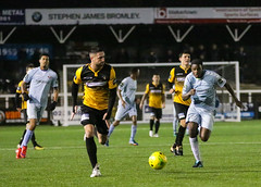 Cray Wanderers 1 Lewes 2 20 01 2018-640.jpg (jamesboyes) Tags: lewes cray bromley football bostik isthmian fa soccer action goal game celebrate celebration sport athlete footballer canon dslr