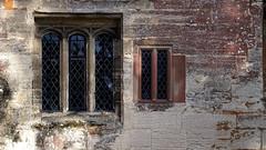 Baddesley Clinton: Windows (Nick:Wood) Tags: windows nationaltrust baddesleyclinton glass stone warwickshire