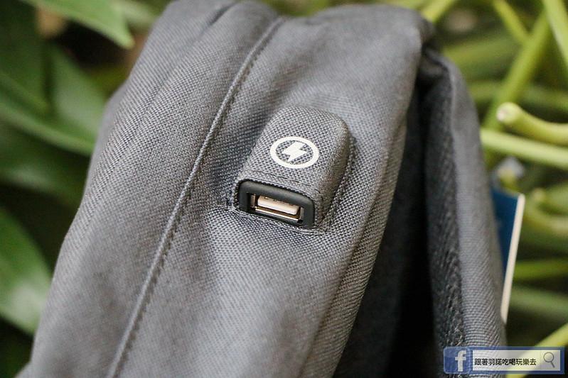 UTmall、USB充電背包、防盜07
