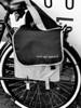 May this be black? (CloudBuster) Tags: black white bike fiets zwart wit fietstas tekst text bag