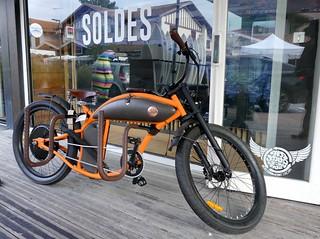 Vélo électrique de surfeur