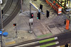Bike Signal (Curtis Gregory Perry) Tags: portland oregon night bike signal bicycle stoplight street south waterfront pdx long exposure crosswalk sidewalk gibbs moody sw nikon d810 sign