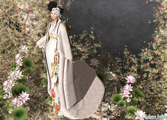 Look 021-2018 (Rehana Seljan (Japan)) Tags: secondlife sl 3d game fashion rehanaseljan rehana newrelease japan kimono wedding bridal hilu kurenai zaara formanails vanityhair musa izzies posesion lelutka maitreya deetalez ikon slackgirl
