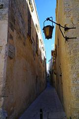 Walking through the narrow ancient streets, Mdina, Malta (Andrey Sulitskiy) Tags: mdina malta