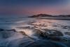 All his sea dreams come to me DSC_4196 (BlueberryAsh) Tags: fffplus torquay beach seascape pointroadknight sunrise longexposure water coast australianseascape australianbeach rocks pink sky movement nikond750 nikon24120
