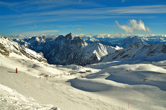 Zugspitze Glacier, Germany - 2600 m (PMario7281) Tags: zugspitze germany garmischpartenkirchen snow ski mountain alps