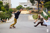 Slide Afuego 666 (Na Ladeira) Tags: naladeira concon slideafuego chile ladeira skatedeladeira appnaladeira longboard longboarding downhill slide