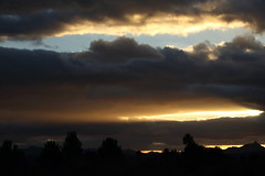 Sunset 1 10 18 #01 (Az Skies Photography) Tags: sun set sunset dusk twilight nightfall sky skyline skyscape cloud clouds red orange yellow gold golden salmon black january 10 2018 january102018 11018 1102018 canon eos 80d canoneos80d eos80d canon80d rio rico arizona az riorico rioricoaz arizonasky arizonaskyline arizonaskyscape arizonasunset