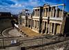 Scaenae frons (Nebelkuss) Tags: mérida teatro thatre romanos romans roma lusitania ruinas ruins ruinasyyacimientos fujixt1 samyang12f2