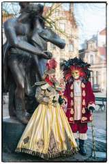 Carnaval Vénitien à Bruges (Des.Nam) Tags: brugesmasquesvã©nitiens2018janvier masque mask bruges belgique desnam déguisement costumes couleur d800 nikon street streetphotographie photoderue