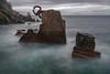 Peine del viento I (teredura58) Tags: donosti peine del viento larga exposicion mar olas sonyflickraward