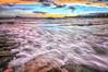 (035/18) Mar movido (Pablo Arias) Tags: pabloarias photoshop photomatix capturenxd españa cielo nubes mar agua mediterráneo playa arena puestadesol atardecer ocaso benidorm alicante