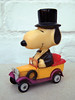 Distinguished Gentleman (The Moog Image Dump) Tags: united feature syndicate snoopy peanuts vintage car toy figure top hat cute kawaii charles m schulz