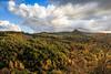 Le nuvole ricoprono il cielo sopra a Rocca d'Orcia (Mancio85) Tags: nature natura landscape paesaggio val dorcia tuscany toscana magic sky clouds rocca green