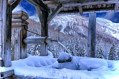 Quiet Water (Gio_guarda_le_stelle) Tags: acqua dolomiten dolomiti dolomites mountainscape landscape snow cool italy ice h2o water freddo sakamoto solitude magicunicornverybest