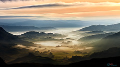 Little Langdale in the Mists (Dave Massey Photography) Tags: langdale lakedistrict land landscape cumbria littlelangdale mist dawn