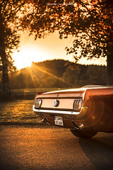 1966 Ford Mustang Convertible - Shot 11 (Dejan Marinkovic Photography) Tags: 1966 ford mustang convertible american classic car cabrio backlight sunset sun